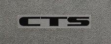 custom fit Lloyd Mats with Cadillac CTS logo