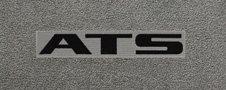 Cadillac ATS custom fit logo floor mats