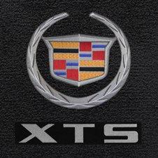 Cadillac Wreath & Crest logo floor mats for XTS
