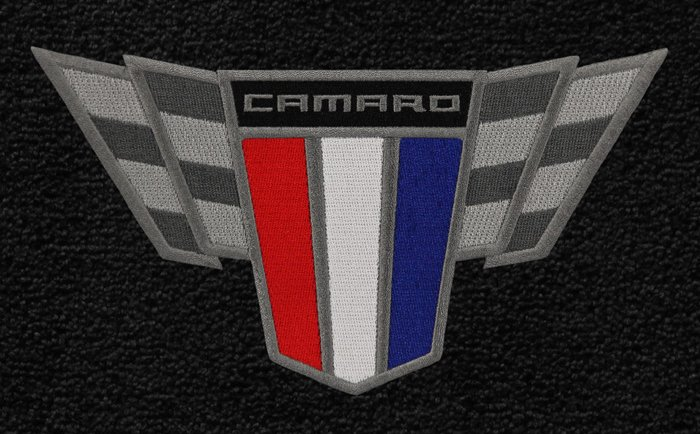 Camaro Commemorative Edition Logo Floor Mats