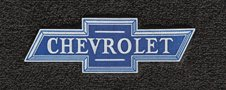 Custom fit vintage Chevrolet floor mats