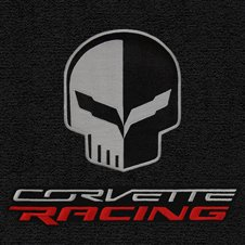 Lloyd Mats Jake and Corvette Racing logo for custom fit floor mats