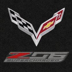 Lloyd Mats Corvette Racing Jake Logo Floor Mats