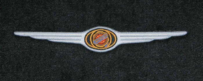 custom fit chrysler logo floor mats for all chrysler cars ...