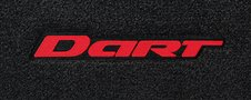 Custom fit Dodge Dart logo floor mats