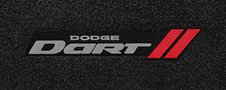 2013 Dodge Dart custom logo floor mats