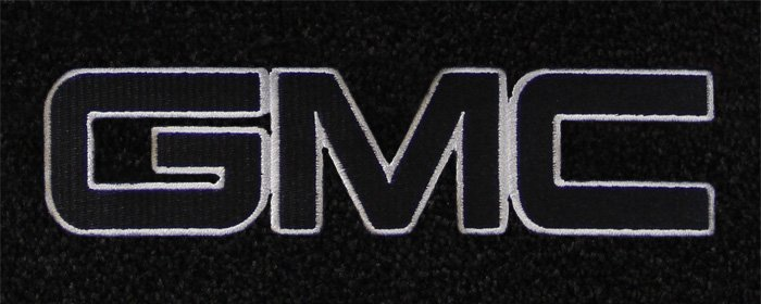 custom fit gmc logo floor mats for all gmc cars and vehicles
