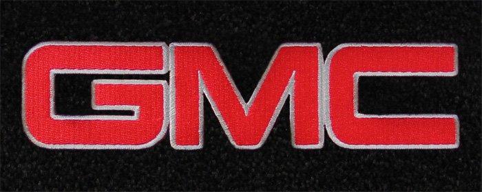 Gmc Floor Mats >> custom fit gmc logo floor mats for all gmc cars and vehicles
