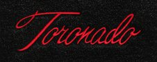Oldsmobile Toronado custom logo floor mats