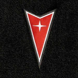 Lloyd Mats Pontiac Firebird Dart Emblem Velourtex Front Floor Mats 1993-2002