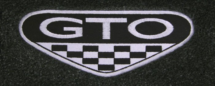 Custom Fit Pontiac Logo Floor Mats For All Pontiac Cars