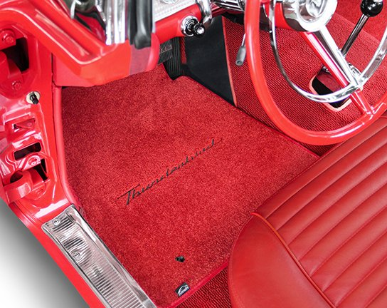 Thunderbird custom fit floor mats