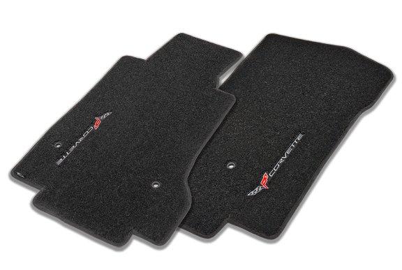 Corvette logo floor mats
