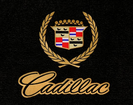 Cadillac Wreath Crest Gold With Script 817001 1