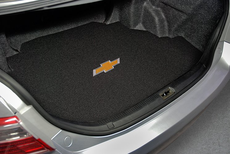 chevy bowtie trunk mat