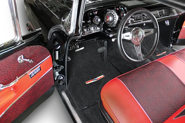 classic chevy car mats