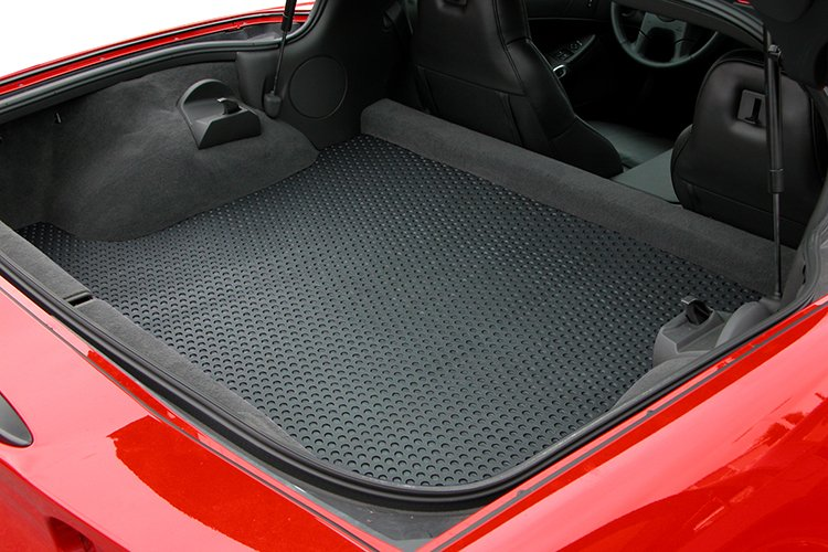 custom corvette cargo all weather mat