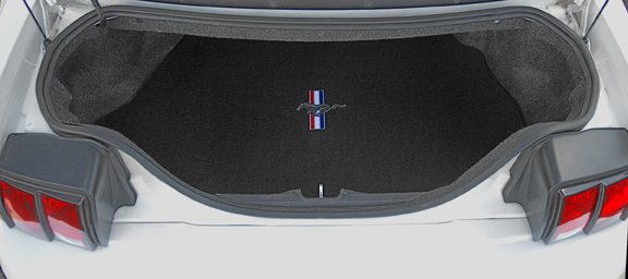 black, cargo, ford, mustang, pony, pony and bars, red white blue, shelby, trunk, ultimat