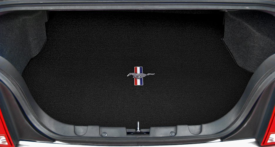 custom fit mustang trunk mat