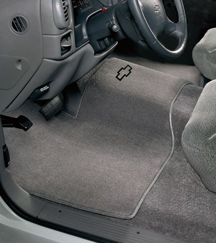 car mats, custom fit chevy cargo mats, custom fit chevy floor mats