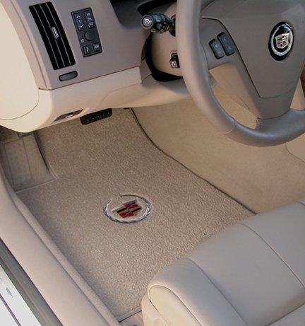 cadillac floor mats, cadillac logo mats, escalade floor mats, Ultimat custom fit floor mats Cadillac