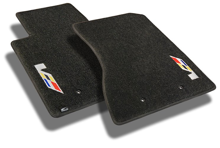 cadillac, floor mats, set, v, v series