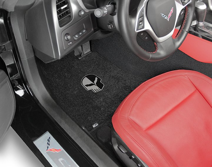 Corvette Racing Jake logo floor mats