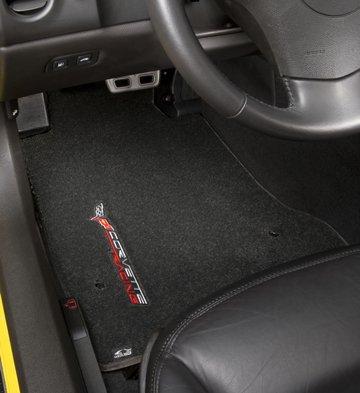 corvette racing logo floor mats