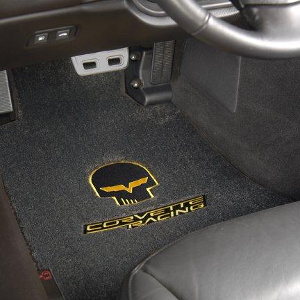 corvette racing floor mats, jake logo floor mats